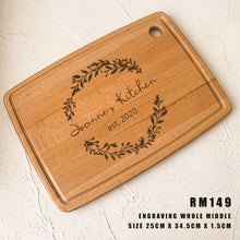 Load image into Gallery viewer, Personalized Hanging Chopping Board/Serving Board