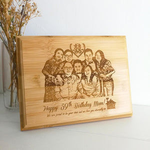 Family Decoration Frame, Birthday Gift for Family, birthday gift shop in Malaysia, 客制化礼品,特别的礼物,送家人的礼物,马来西亚礼品店