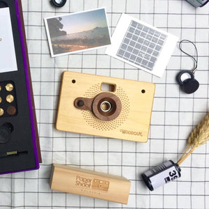 Personalized Wooden Camera – WoodCam Point & Shoot