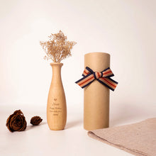 Load image into Gallery viewer, Personalized Wooden Vase