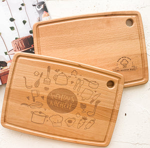 Personalized Chopping Board from NSJ Stylish Store, Mother Gift in Malaysia, Personalized Gift in Malaysia, Special Gift for mother and wife