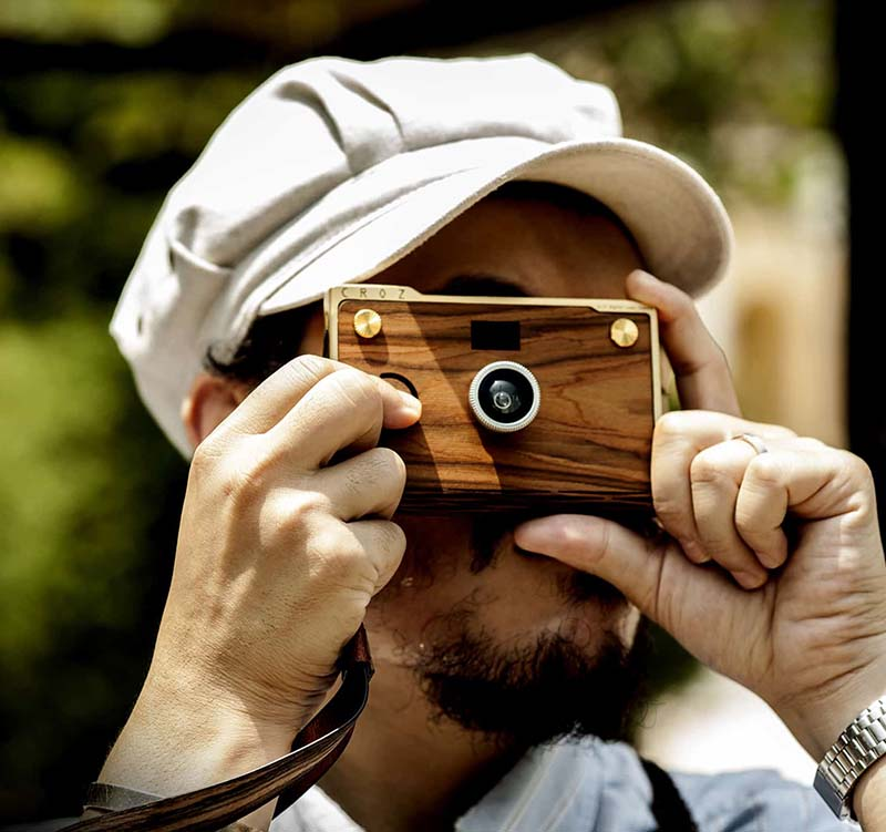 Personalized Wooden Camera – CROZ Premium