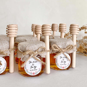 Pure Honey Jar with dipper ( MOQ 50 pcs only)