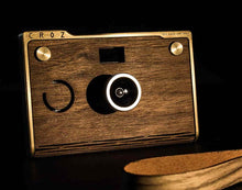 Load image into Gallery viewer, Personalized Wooden Camera – CROZ Premium