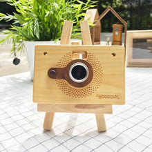 Load image into Gallery viewer, Personalized Wooden Camera – WoodCam Point & Shoot