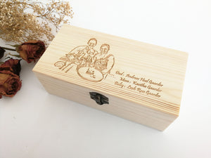 Personalized Wooden Office Gift Set