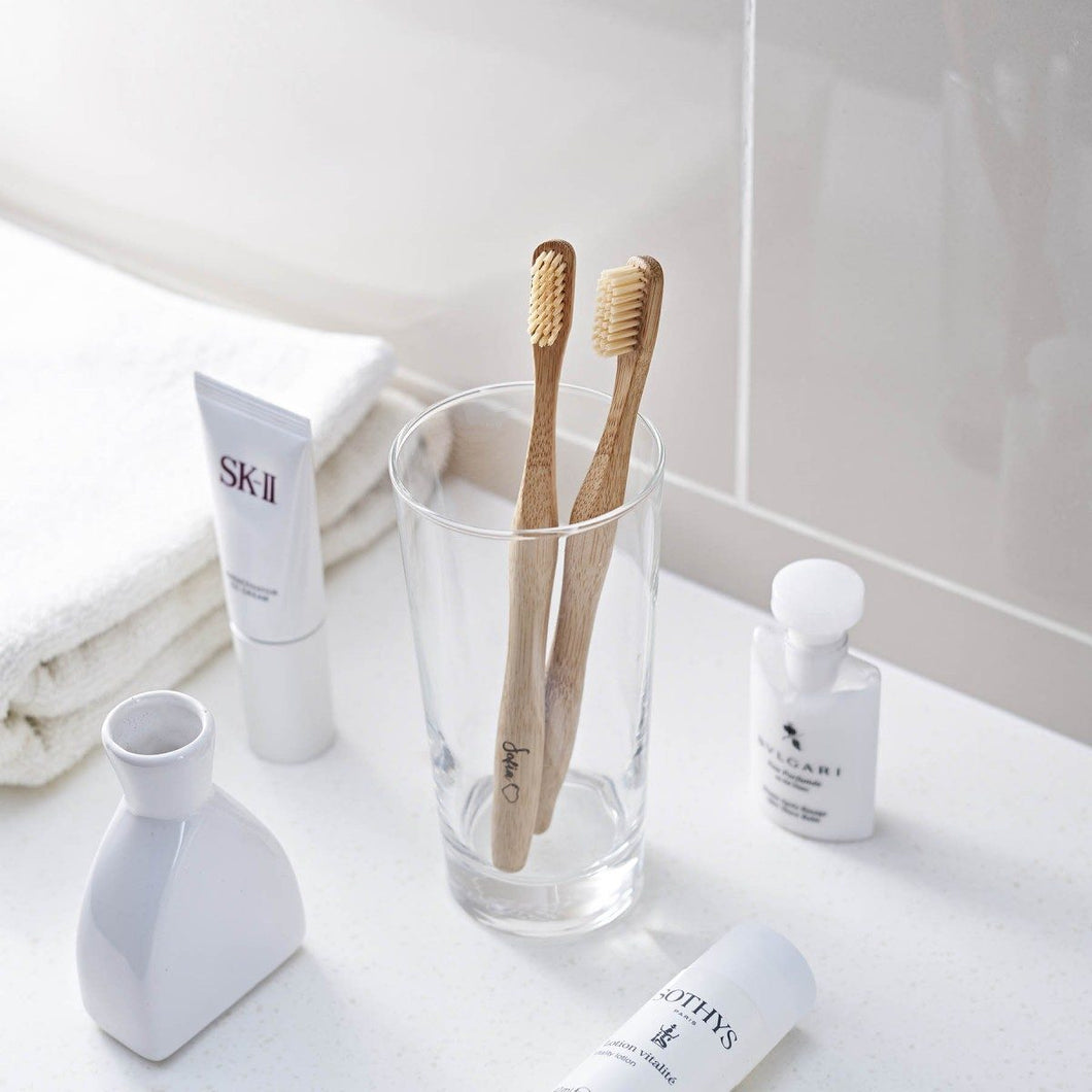 Personalized Sustainable Bamboo Toothbrush
