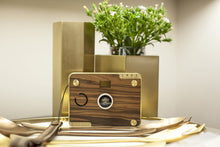 Load image into Gallery viewer, Personalized Wooden Camera – CROZ Vintage