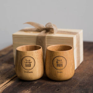 Personalized Cup Set for Parents, Best Gift for Parents, Anniversary Gift, Best Gift for couple, 送父母的礼物,双亲节礼物,父亲节礼物,送妈妈的礼物,母亲节礼物