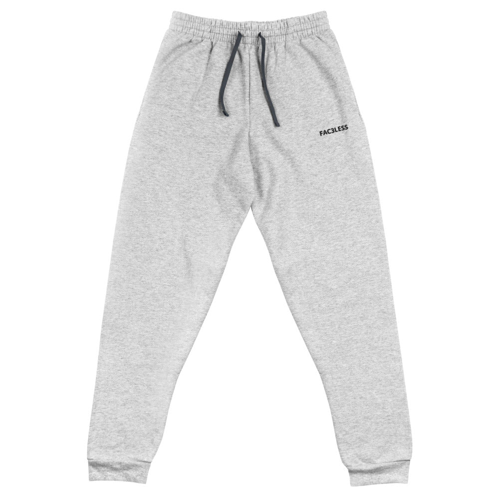 Named Embroidered Joggers - FAC3LESS