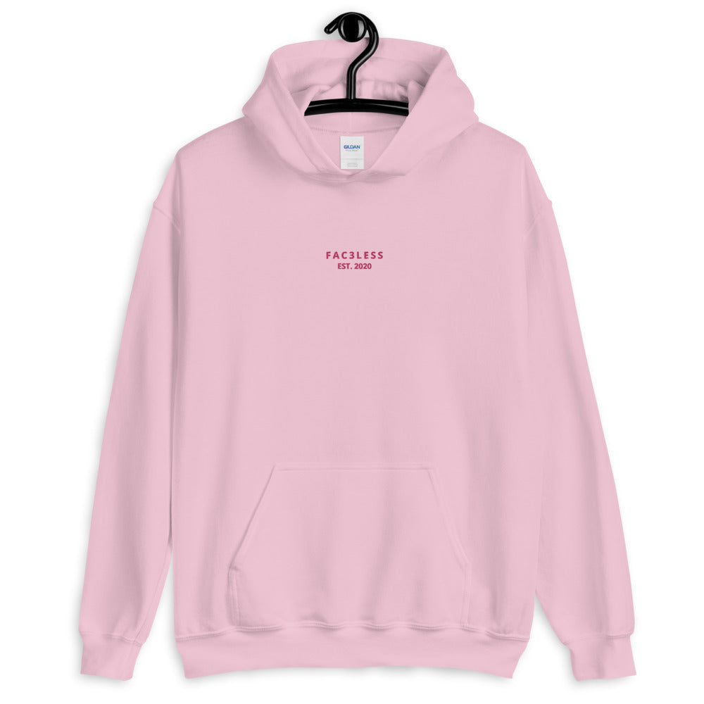 Embroidered Named Hoodie - FAC3LESS