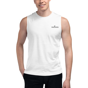 Named Muscle Shirt - FAC3LESS