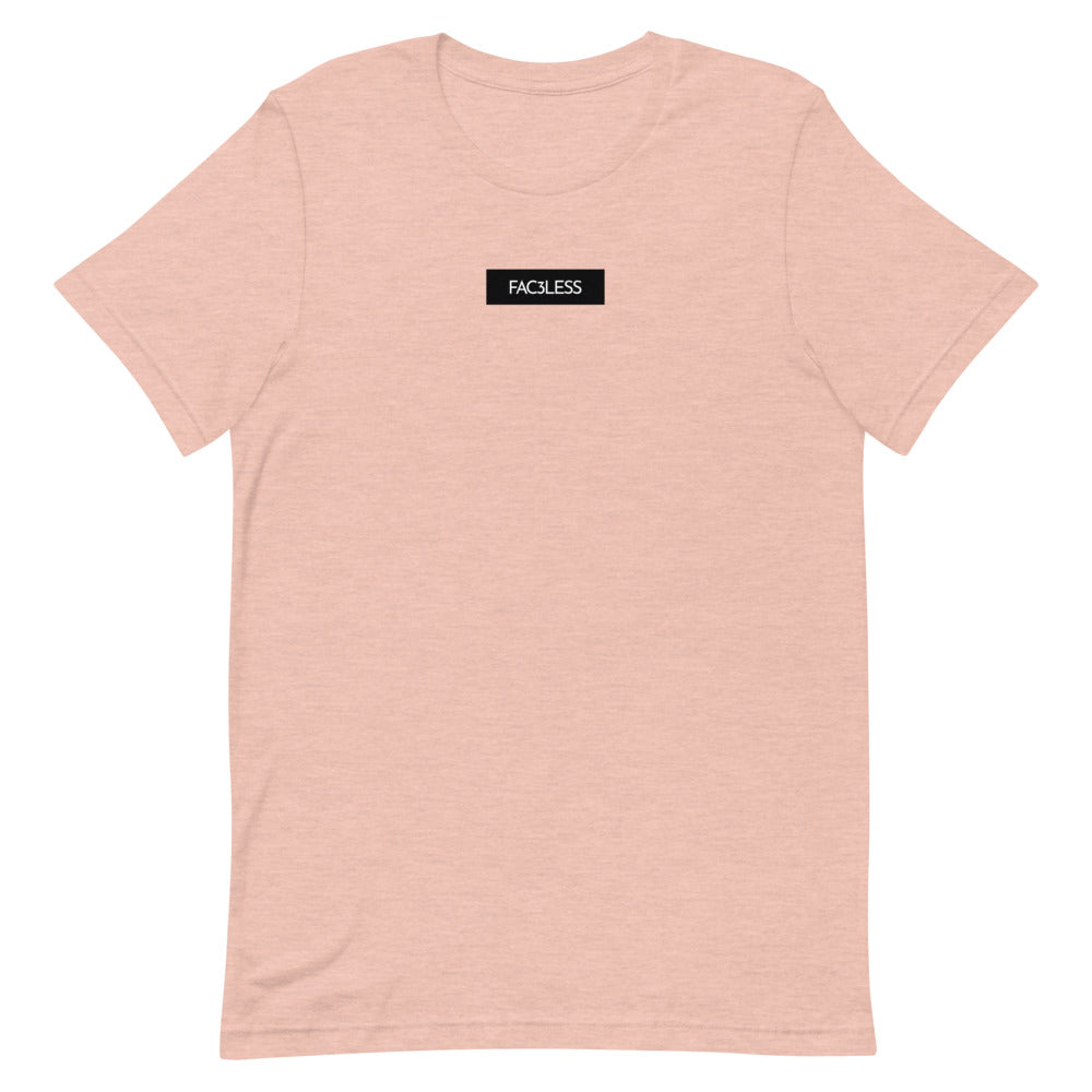 Boxed Back Tee - FAC3LESS