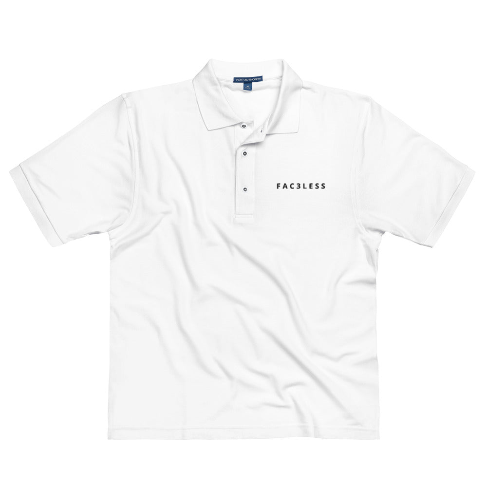 Men's Premium Polo - FAC3LESS