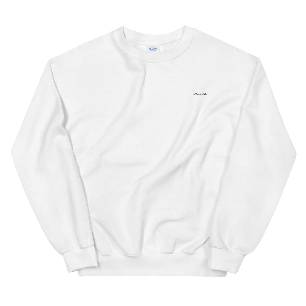 Who Are You Sweatshirt - FAC3LESS