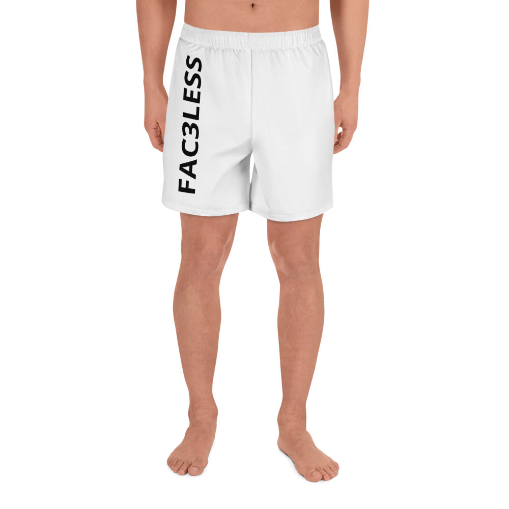 Mens Written Shorts - FAC3LESS