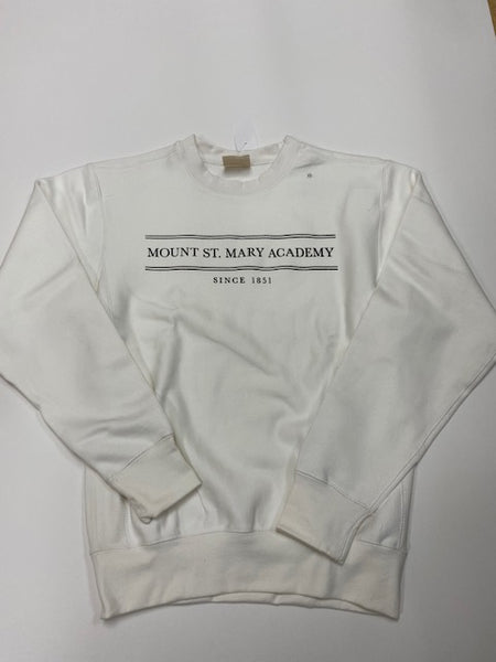White Mount St. Mary Sweatshirt