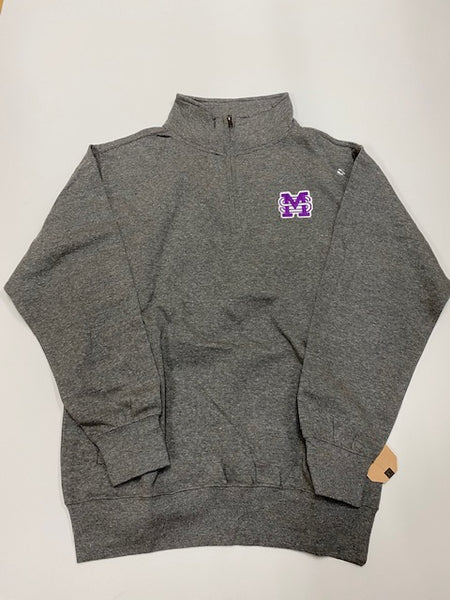 Quarter Zip with MSM Patch