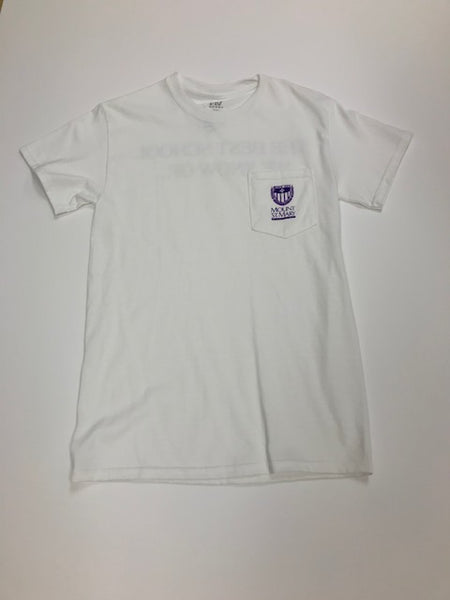 White Alma Mater Shirt