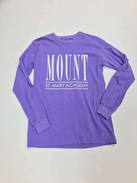 Purple Long Sleeve MSM Shirt