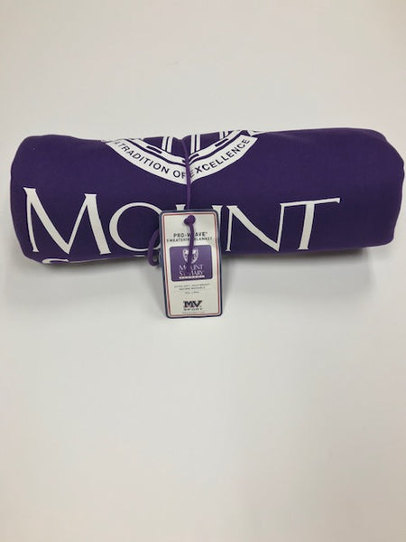 Purple Mount St. Mary Sweatshirt Blanket