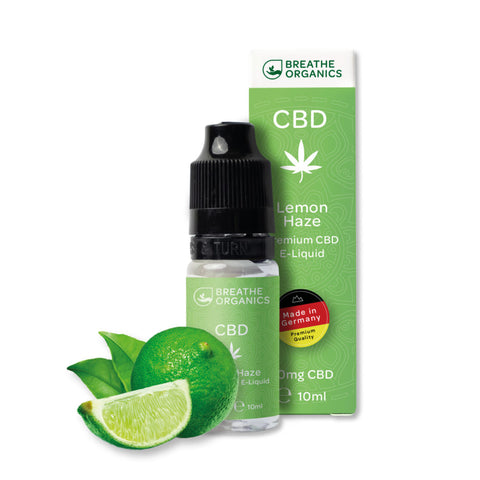 Breathe Organics - Lemon Haze CBD E-Liquid (10ml) - CBDHouse.shop