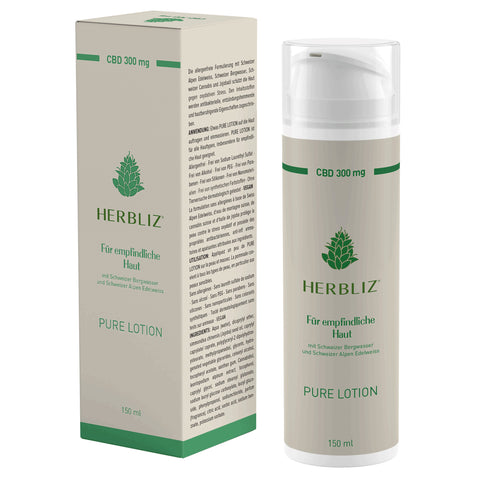 Herbliz - Pure CBD Lotion - CBDHouse.shop