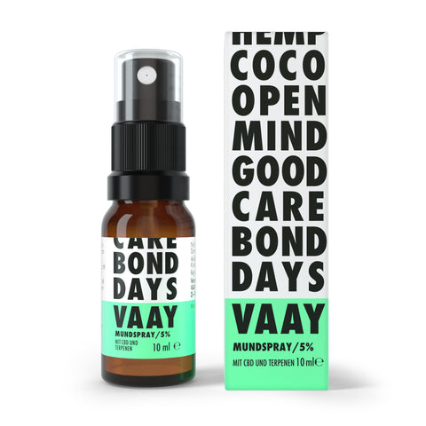 VAAY CBD Öl Mundspray - 5 % - CBDHouse.shop