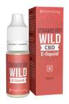 Harmony - Erdbeere Strawberry Wild CBD E-Liquid (10ml) - CBDHouse.shop