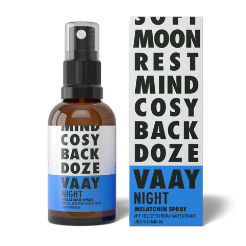 VAAY Night Melantonin Spray - CBDHouse.shop