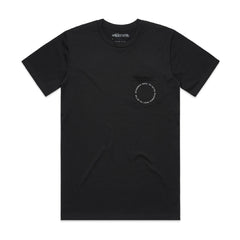 Circle Pocket Tee - Black