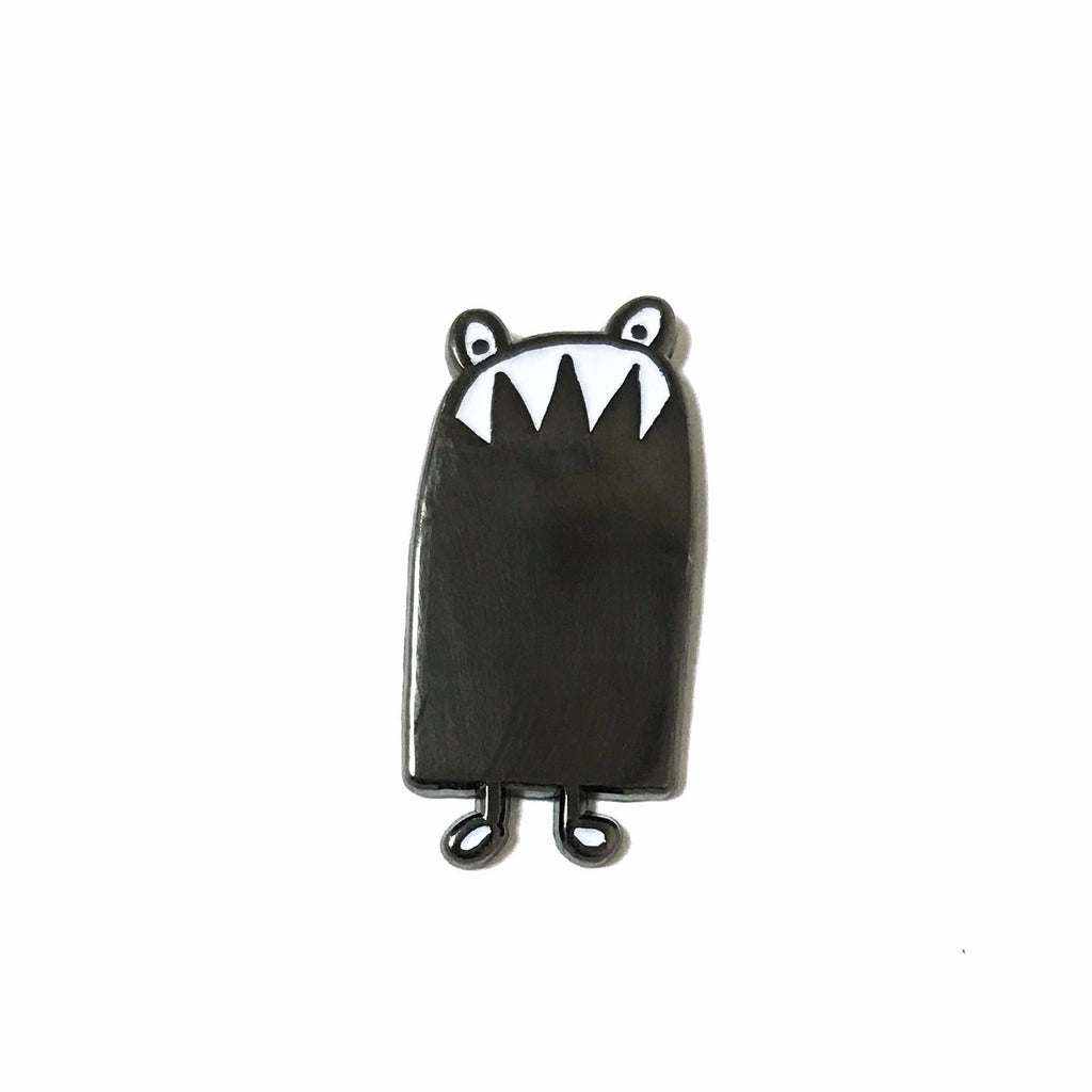 Door Monster Pin
