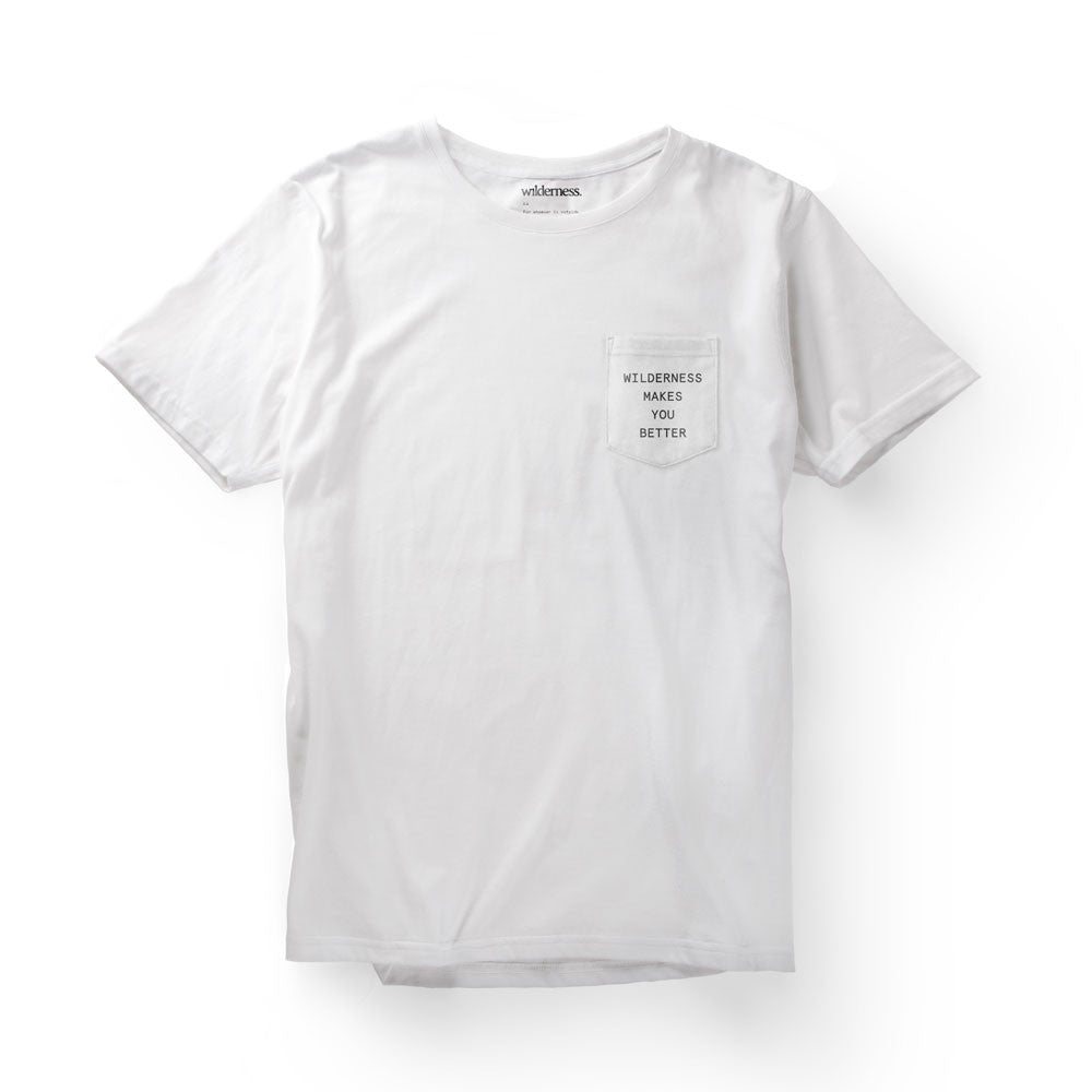 WMYB White Pocket Tee