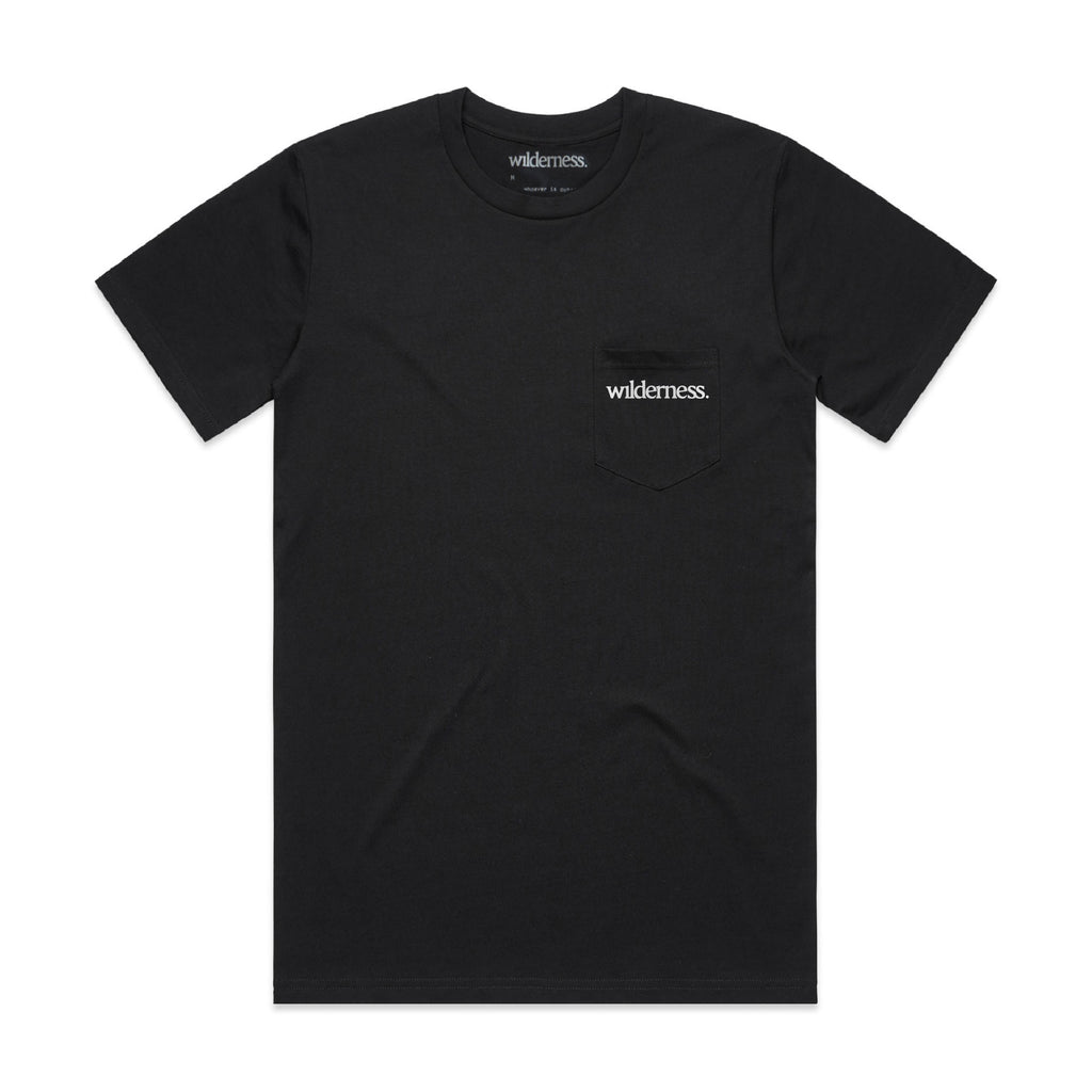 Logo Pocket Tee - Black
