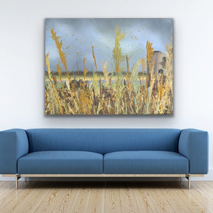 The Mill, Norfolk Broads - Limited Edition Canvas Print