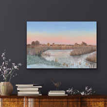 Load image into Gallery viewer, Winter Sky, Norfolk Broads - Limited Edition Canvas Print