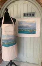Load image into Gallery viewer, The Harbour Clare Island - Tea Towel