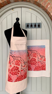 Winter Berries - Tea Towel