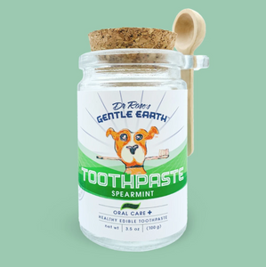 Dr. Rose's Gentle Earth Pets Tooth Brushing Instructions:
