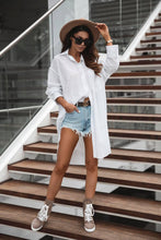 Load image into Gallery viewer, Oversized shirt Ariel - white