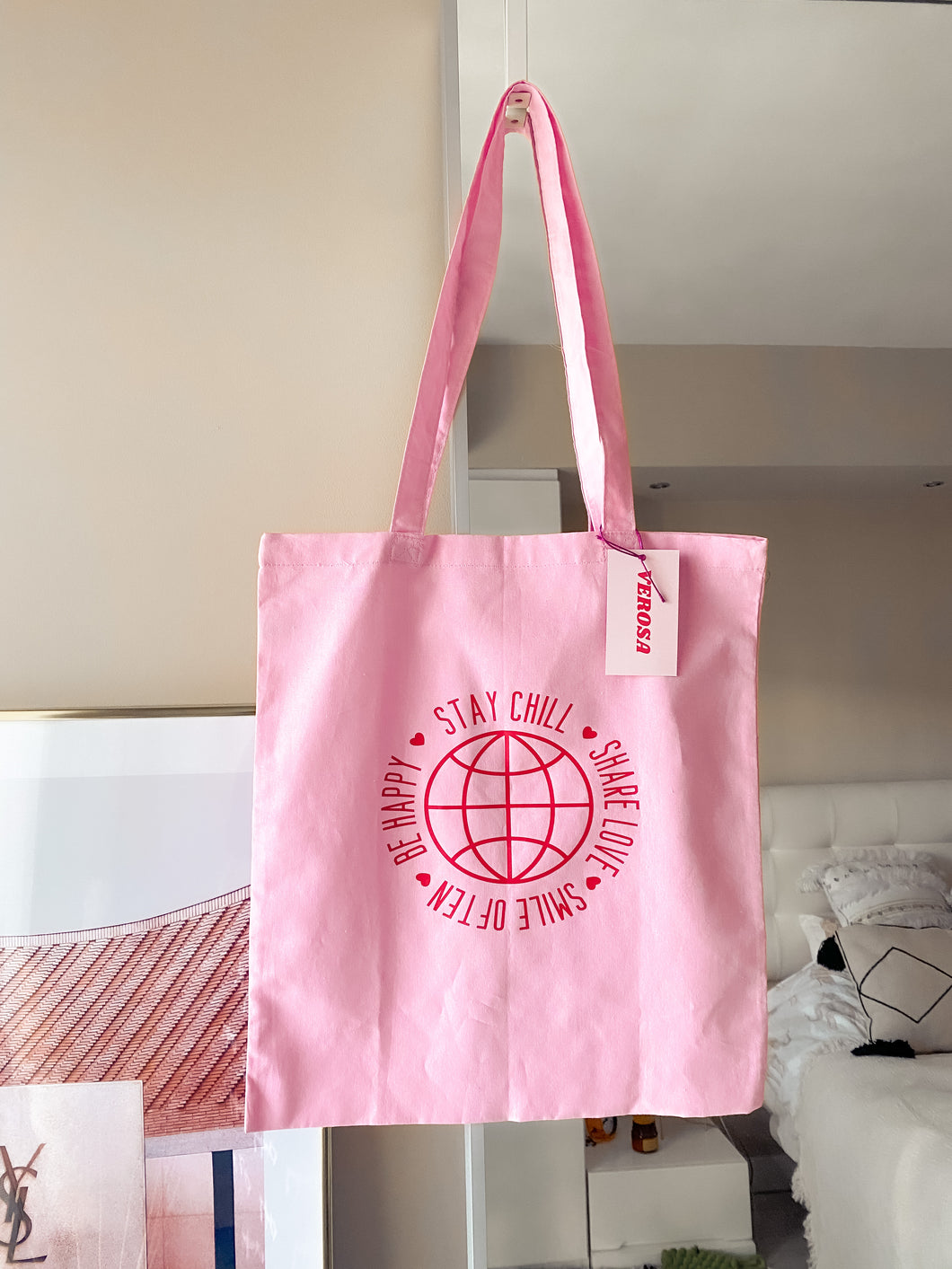 Cotton tote bag - Stay chill