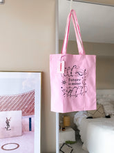 Load image into Gallery viewer, Cotton tote bag - Future is Mine
