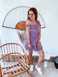 Dress LOLA - dark purple