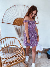 Load image into Gallery viewer, Dress LOLA - dark purple