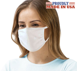 Wholesale Made in USA Antimicrobial Copper Silver Cotton Face Mask