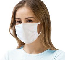 Load image into Gallery viewer, Bulk Wholesale 3 Layer Silver Infused Antimicrobial 100% Cotton Face Mask