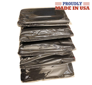 Black Wholesale USA Made 3 Ply Face Masks 50 Pcs Disposable