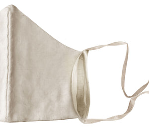 Khadi Linen Mask With Filter Pocket