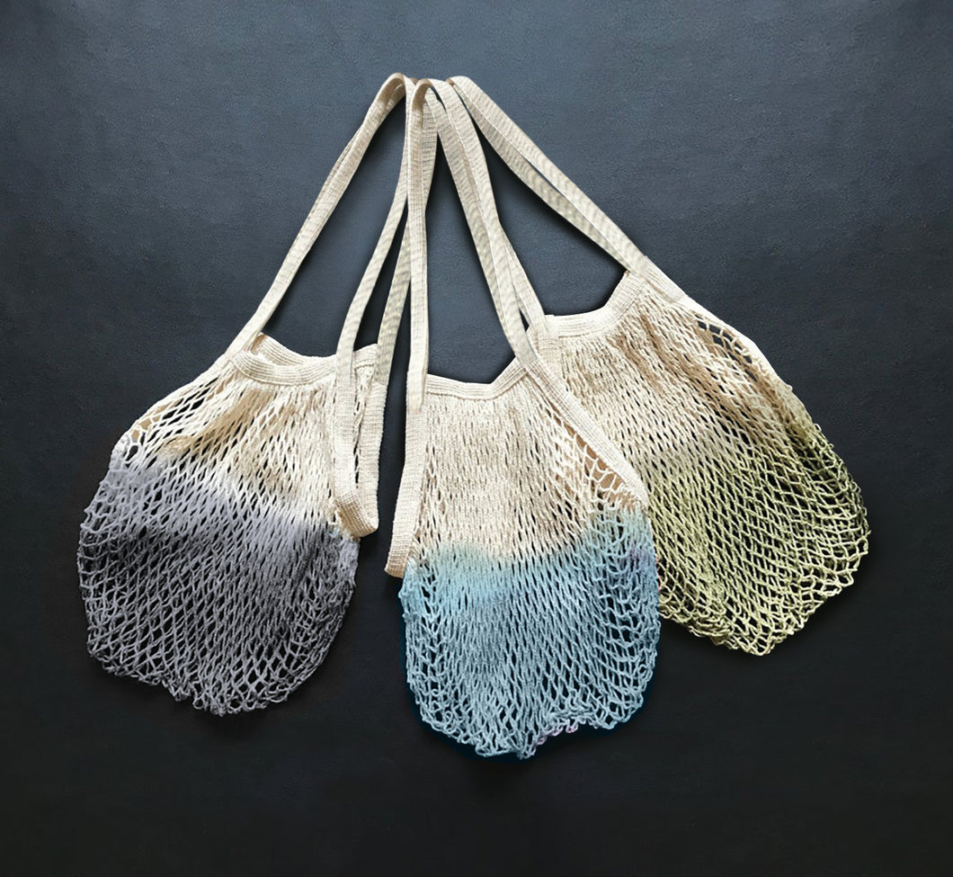 Ombre Dip Dyed Mesh Bags