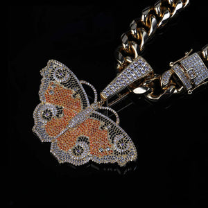 Iced Out Butterfly